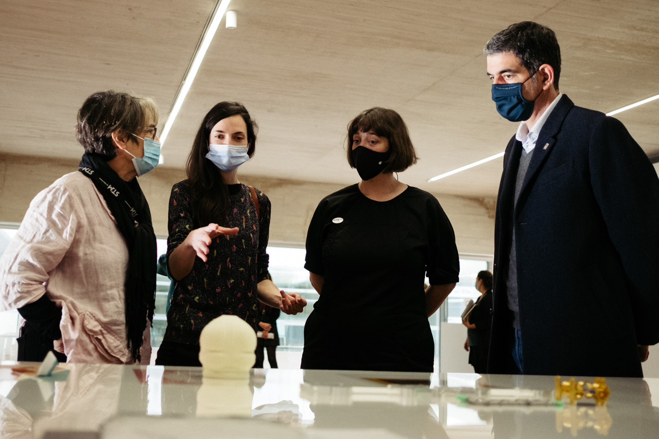 DSCF9108 - Nagore Amenabarro inaugura con 'Platina' el proyecto 'Arte abian'