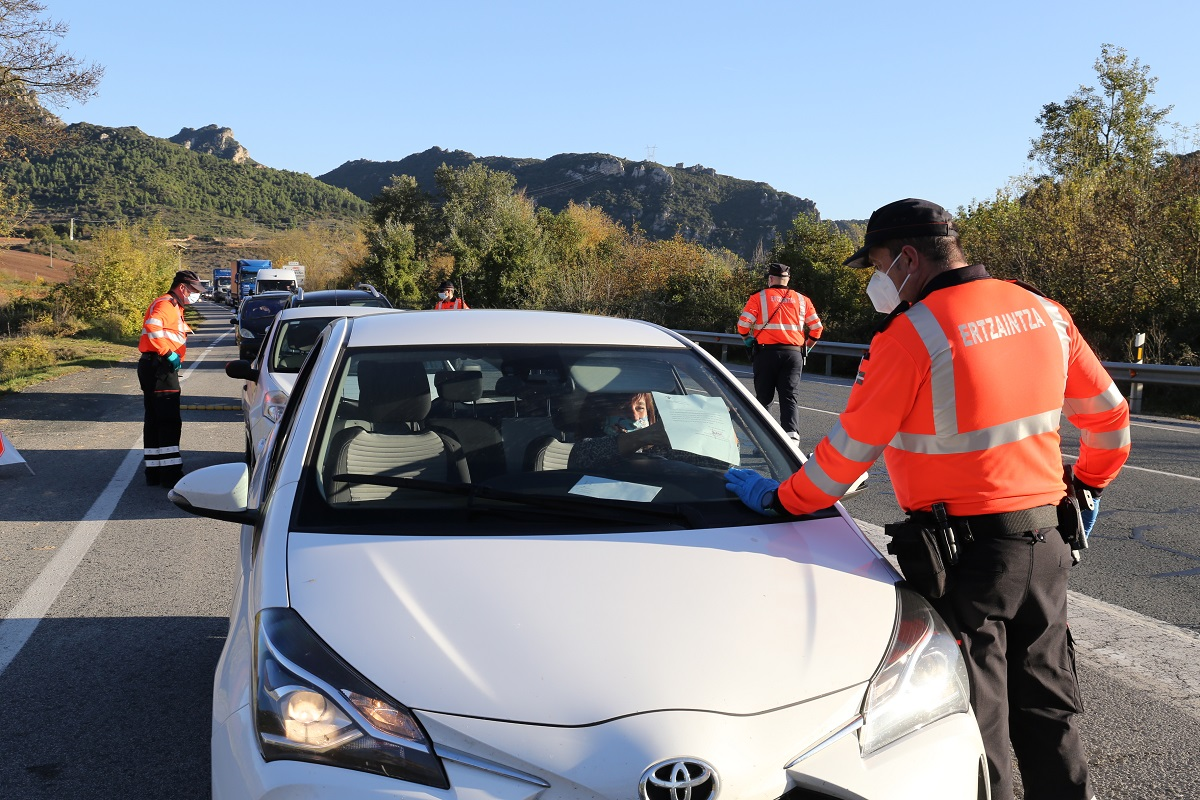 Imagen de archivo de un control. Foto: Gobierno vasco