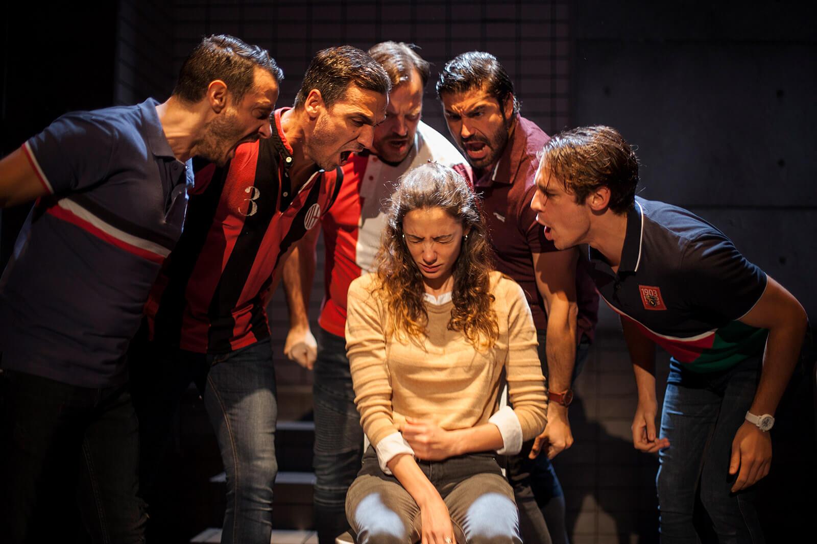 'La Jauría' con Teatro Kamikaze recalará el sábado en el Teatro Victoria Eugenia. Foto: Teatro Kamikaze