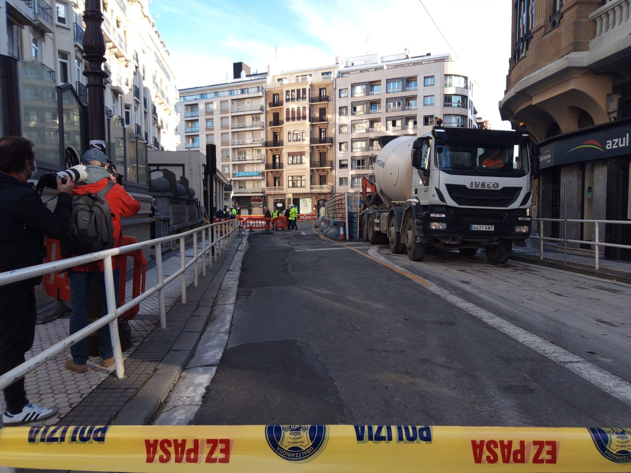 Zubieta - Las obras del Metro no pueden con la calle Zubieta