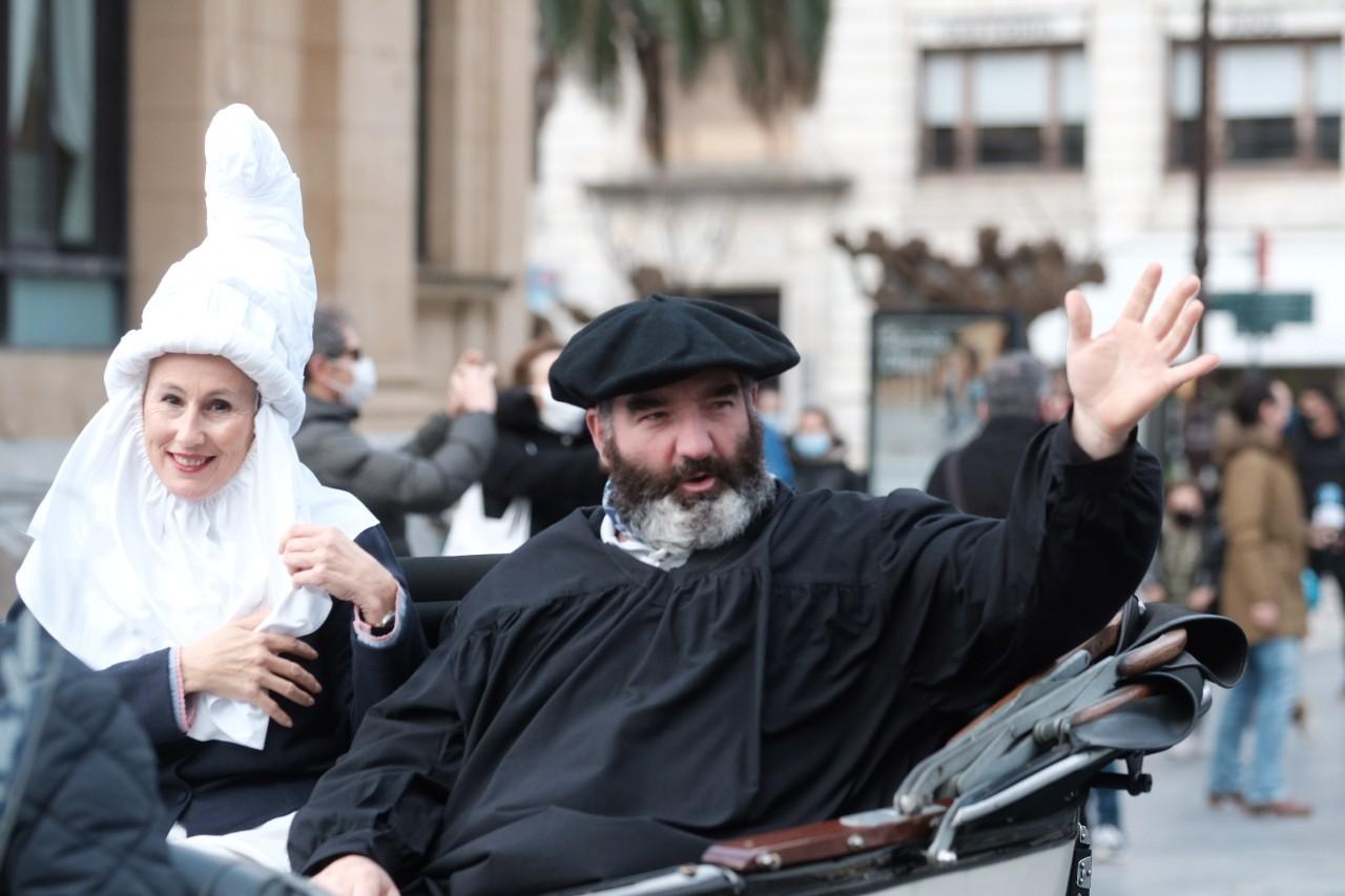 """2020 1224 13203700 copy 1280x853 - """"Llegamos a Donostia con muchos regalos"""", dice Olentzero"""