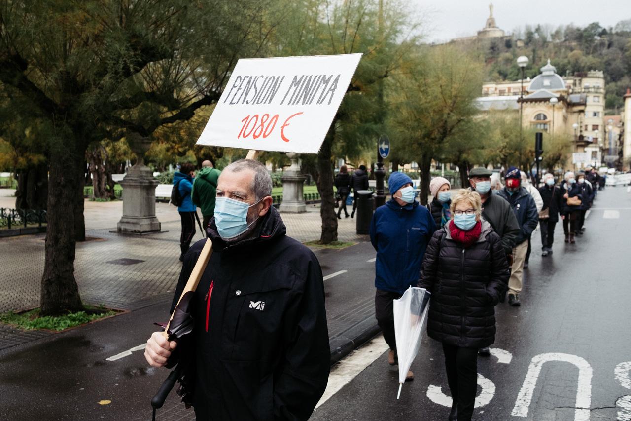 DSCF2584 - Los pensionistas vuelven a la calle en Donostia contra el pacto de Toledo