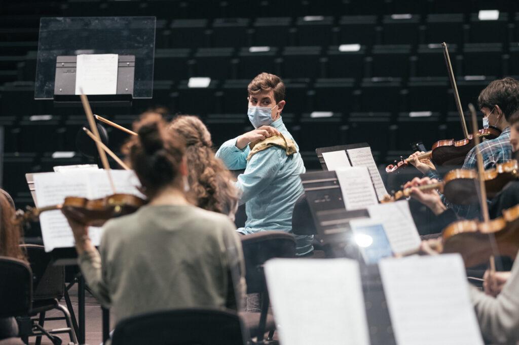 DSCF6930 La EGO ultima su programa navideño dedicado a Beethoven