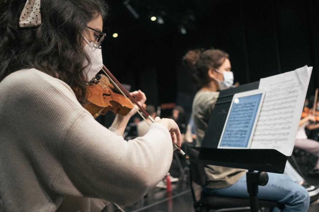 DSCF7014 La EGO ultima su programa navideño dedicado a Beethoven