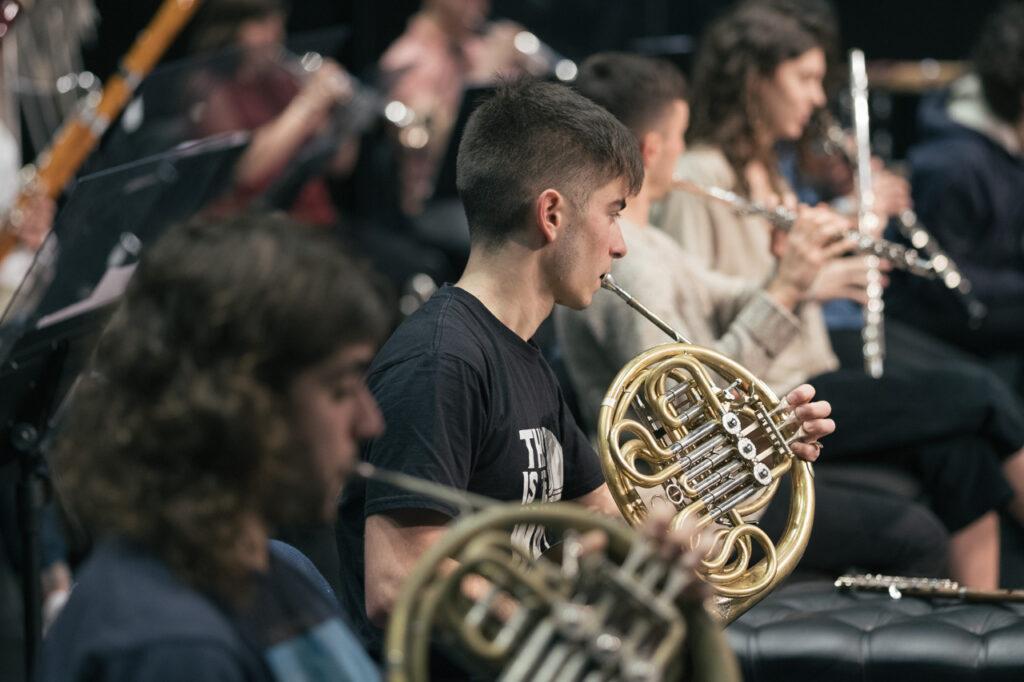 DSCF7034 La EGO ultima su programa navideño dedicado a Beethoven