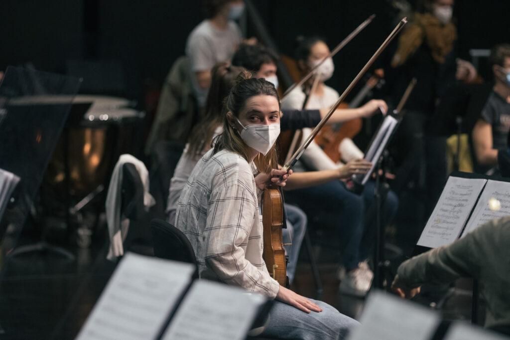 DSCF7086 La EGO ultima su programa navideño dedicado a Beethoven