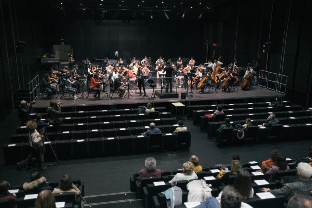 DSCF7316 La EGO ultima su programa navideño dedicado a Beethoven