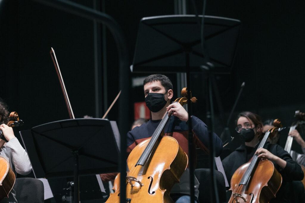 DSCF7379 La EGO ultima su programa navideño dedicado a Beethoven