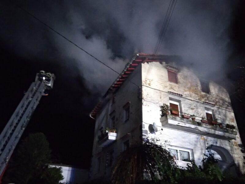 Incendio en Tolosa