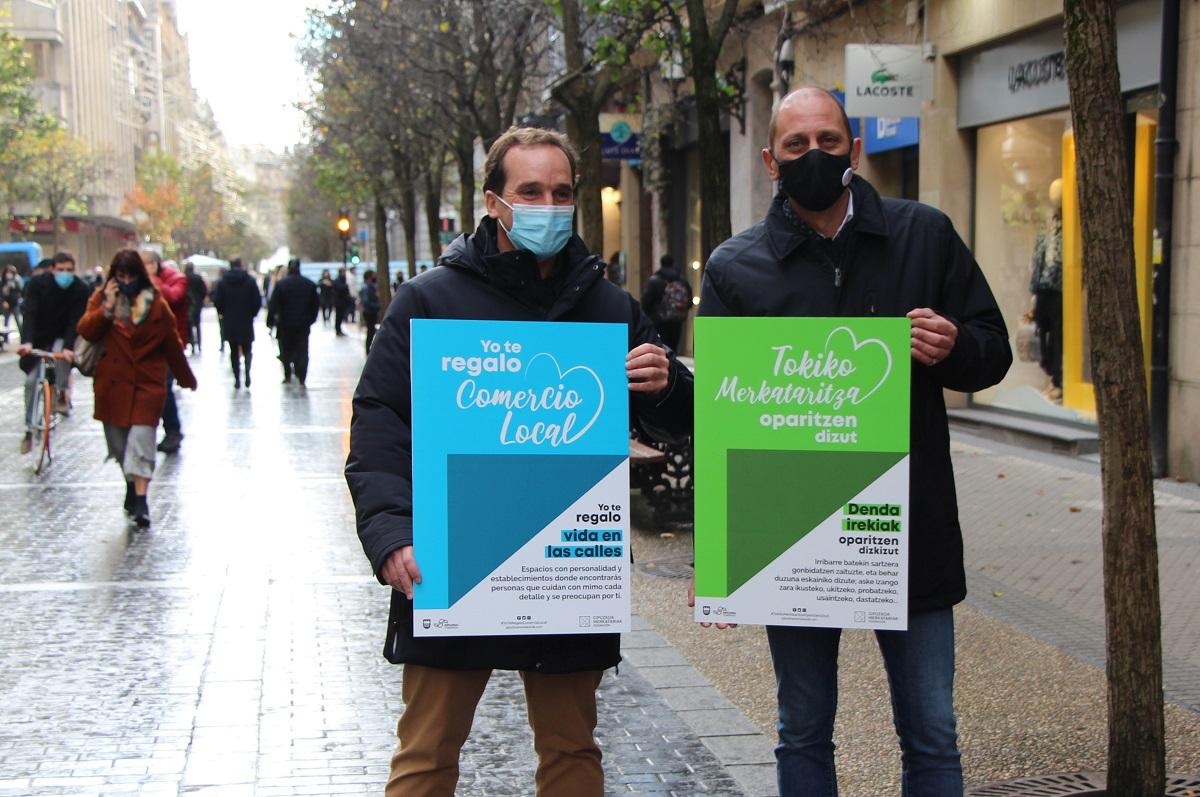 Campaña de Navidad de Gipuzkoako Merkatariak. Foto: G.M