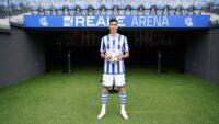 Carlos Fernandez 1 Carlos Fernández firma por la Real Sociedad hasta junio de 2026