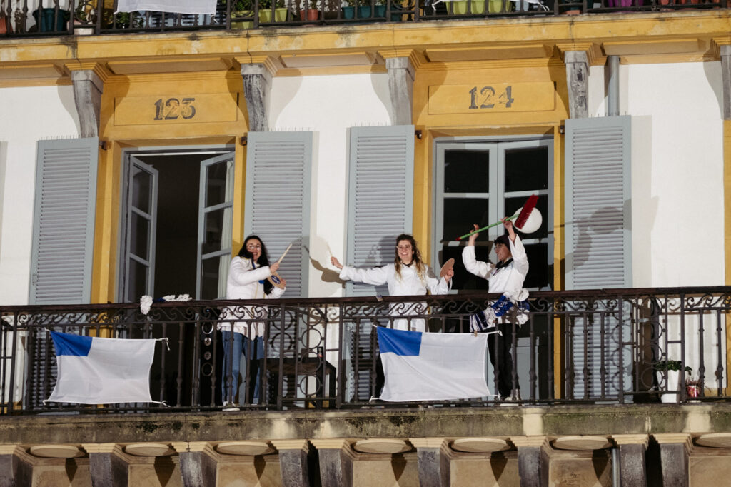 DSCF0987 Se acalla la fiesta en San Sebastián a falta de redobles