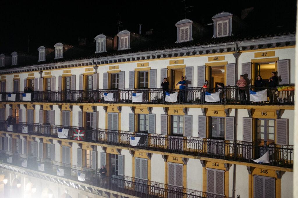 DSCF1102 Se acalla la fiesta en San Sebastián a falta de redobles