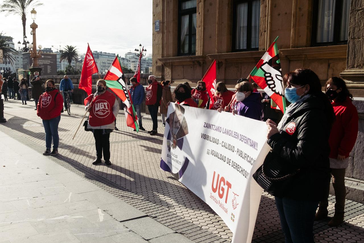 DSCF2209 - El sector de los cuidados pide mejores condiciones laborales en Euskadi