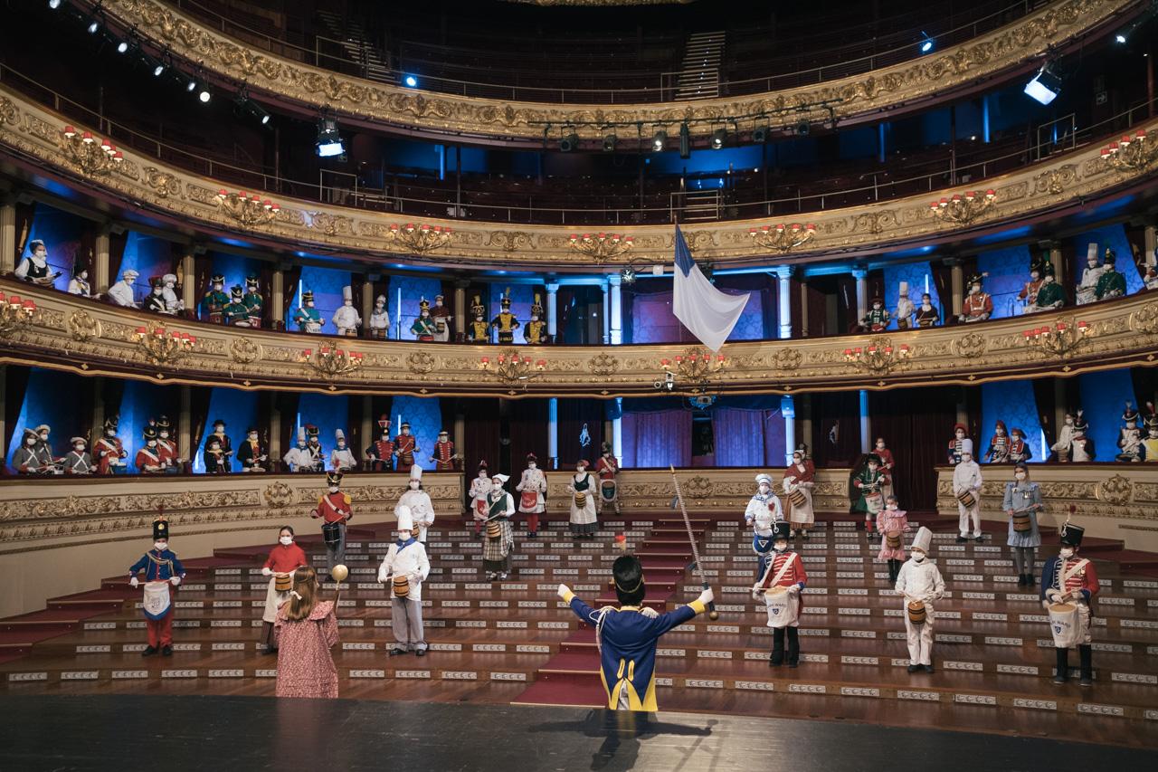 DSCF8697 - Se rueda la Tamborrada en el Teatro Victoria Eugenia