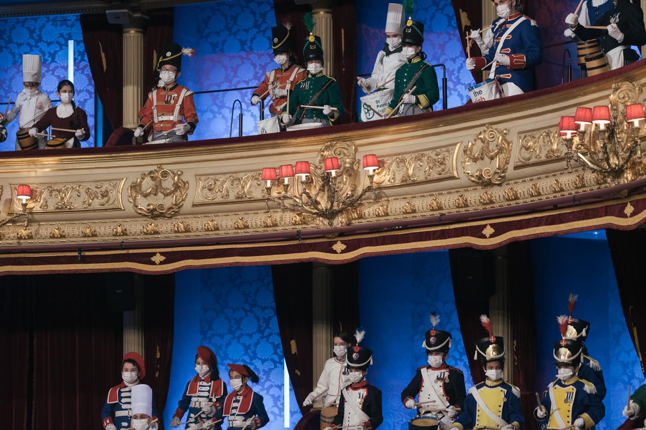 DSCF8719 - Se rueda la Tamborrada en el Teatro Victoria Eugenia