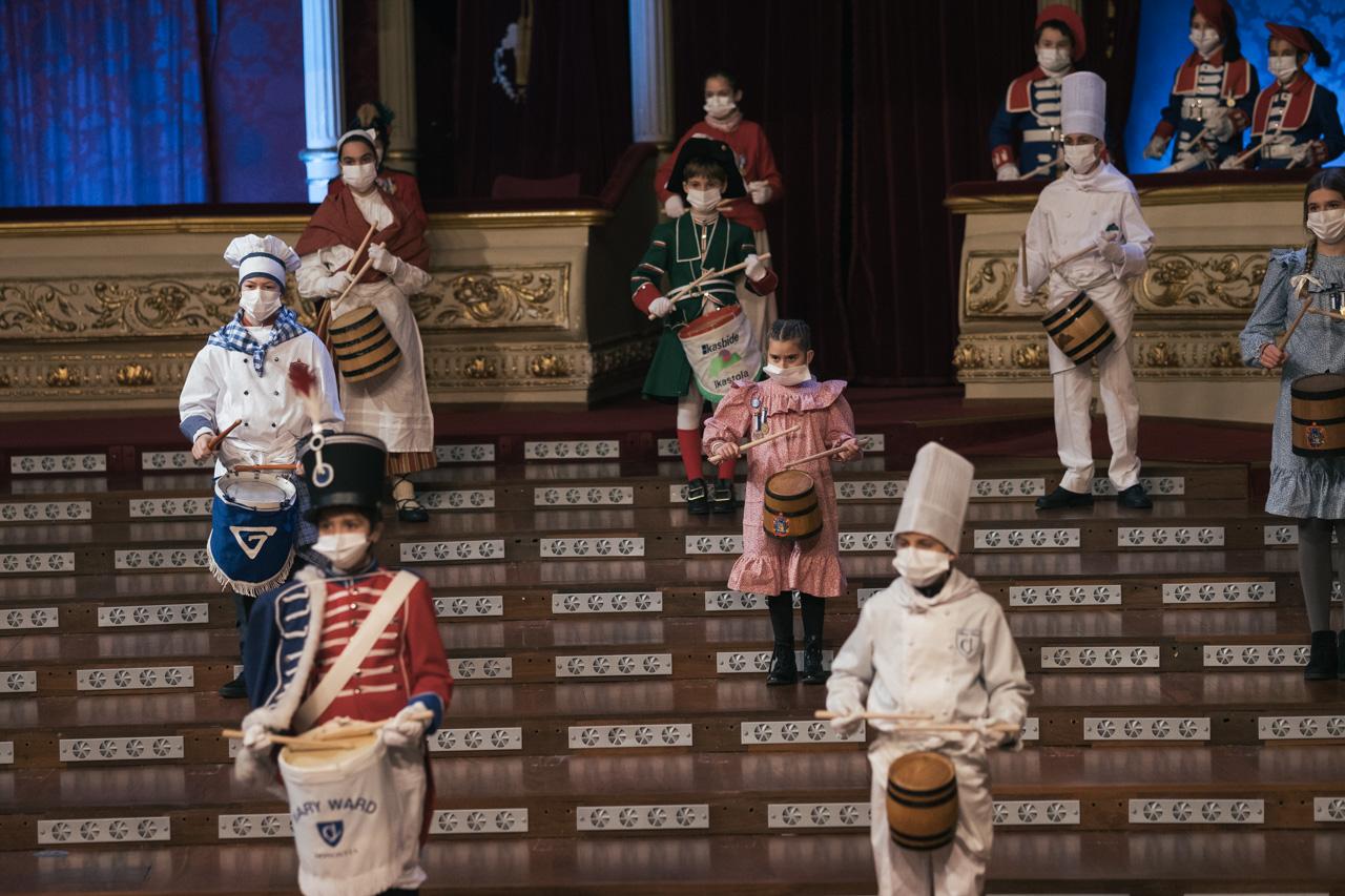 DSCF8721 - Se rueda la Tamborrada en el Teatro Victoria Eugenia