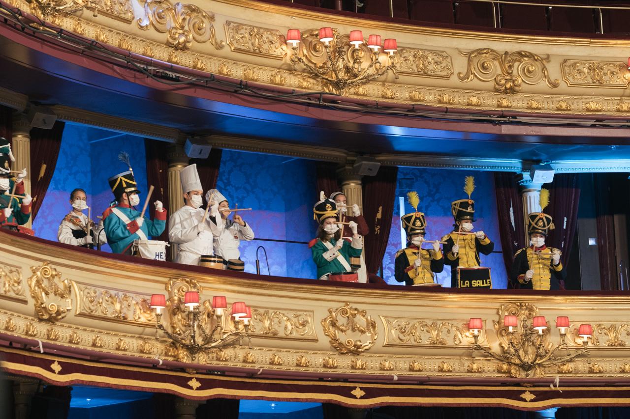 DSCF8752 - Se rueda la Tamborrada en el Teatro Victoria Eugenia
