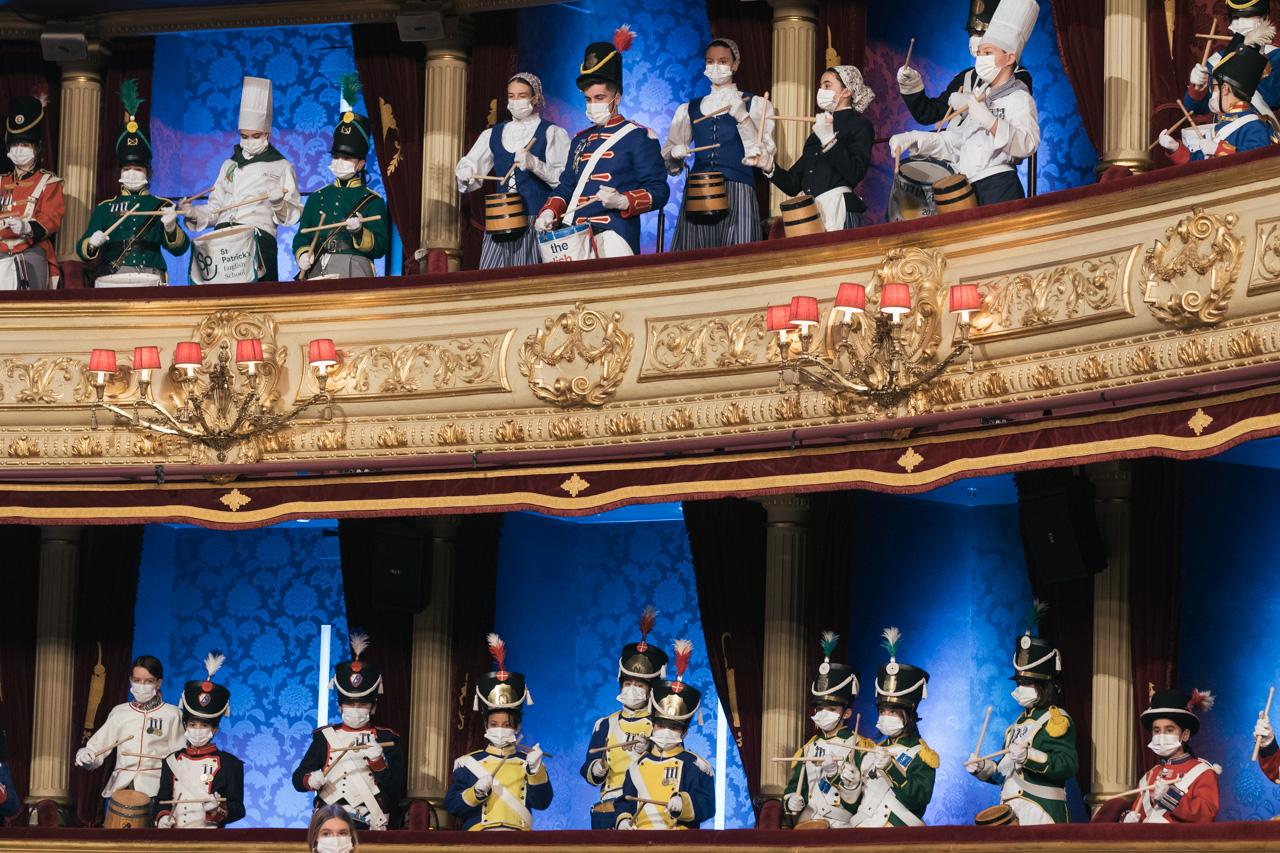 DSCF8755 - Se rueda la Tamborrada en el Teatro Victoria Eugenia