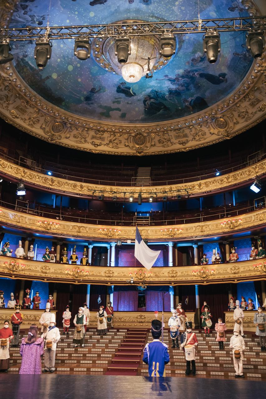 DSCF8781 - Se rueda la Tamborrada en el Teatro Victoria Eugenia