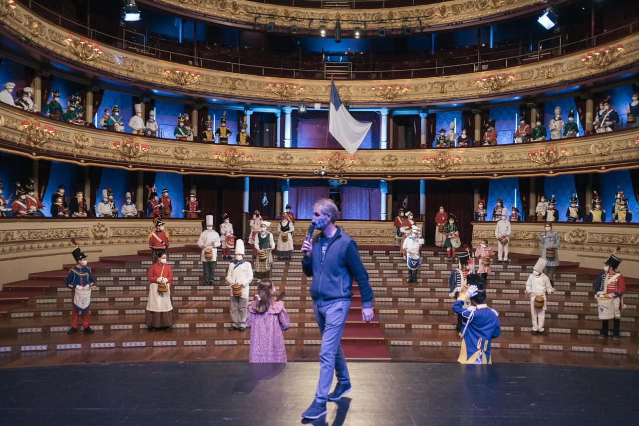 DSCF8789 - Se rueda la Tamborrada en el Teatro Victoria Eugenia