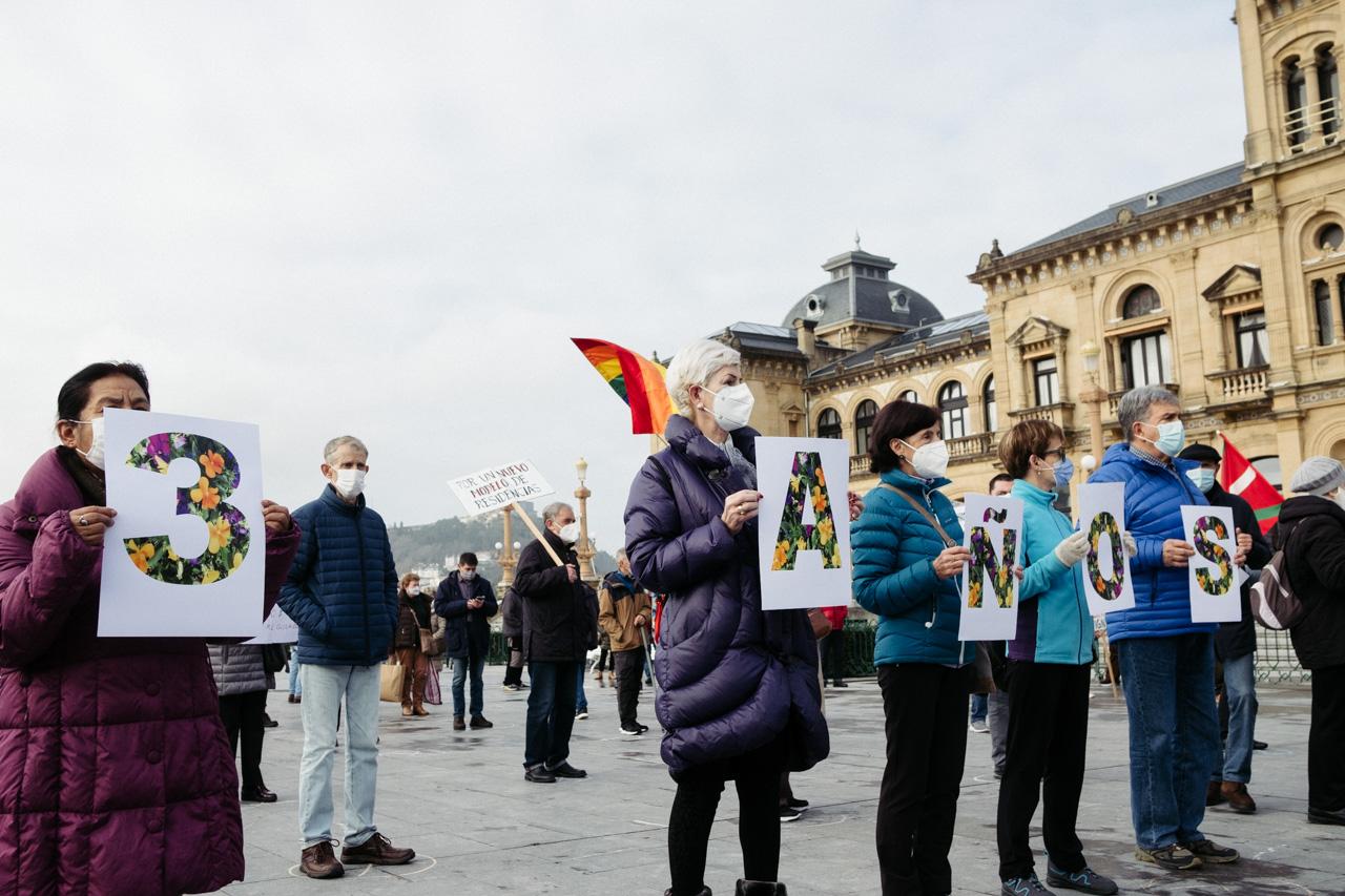 DSCF9302 - Pensionistas vascos: tres años de reivindicaciones en la calle