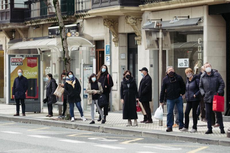 DSCF9378 El Covid-19 provocó 62 muertes la pasada semana en Euskadi