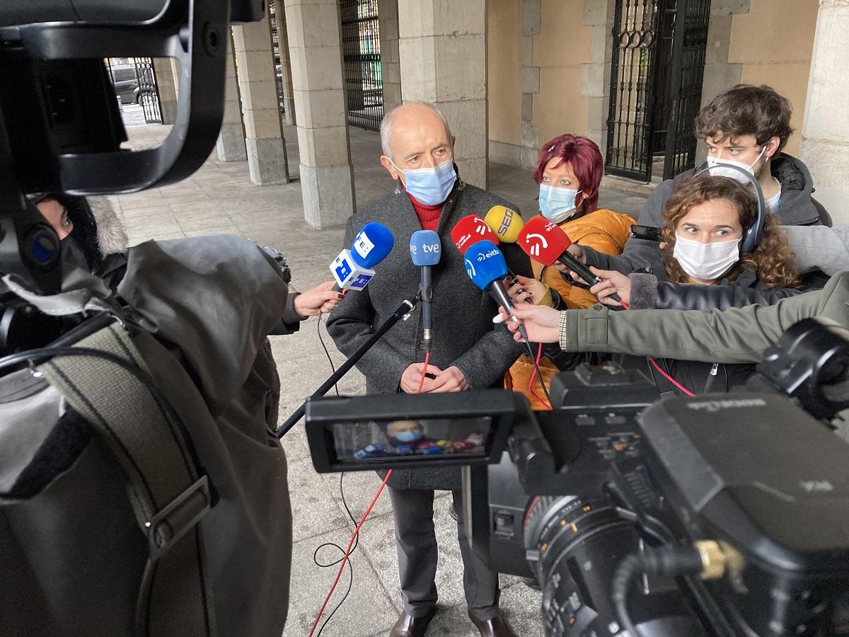 Josu Erkoreka. Foto: Gobierno vasco