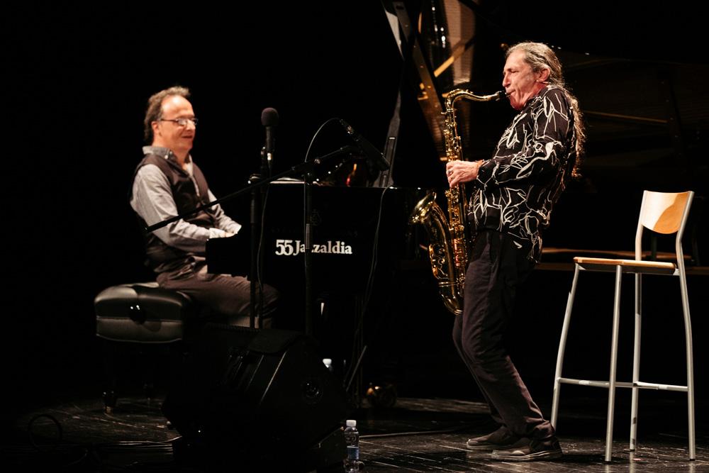 Jazzaldia Inaki Salvador y Jorge Pardo - Donostia Kultura capeó el 2020 con el abrazo del público y prepara dFERIA