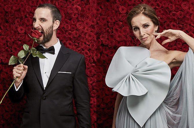 Dani Rovira y Ana Belén han leído las candidaturas esta mañana. Foto: Premios Goya