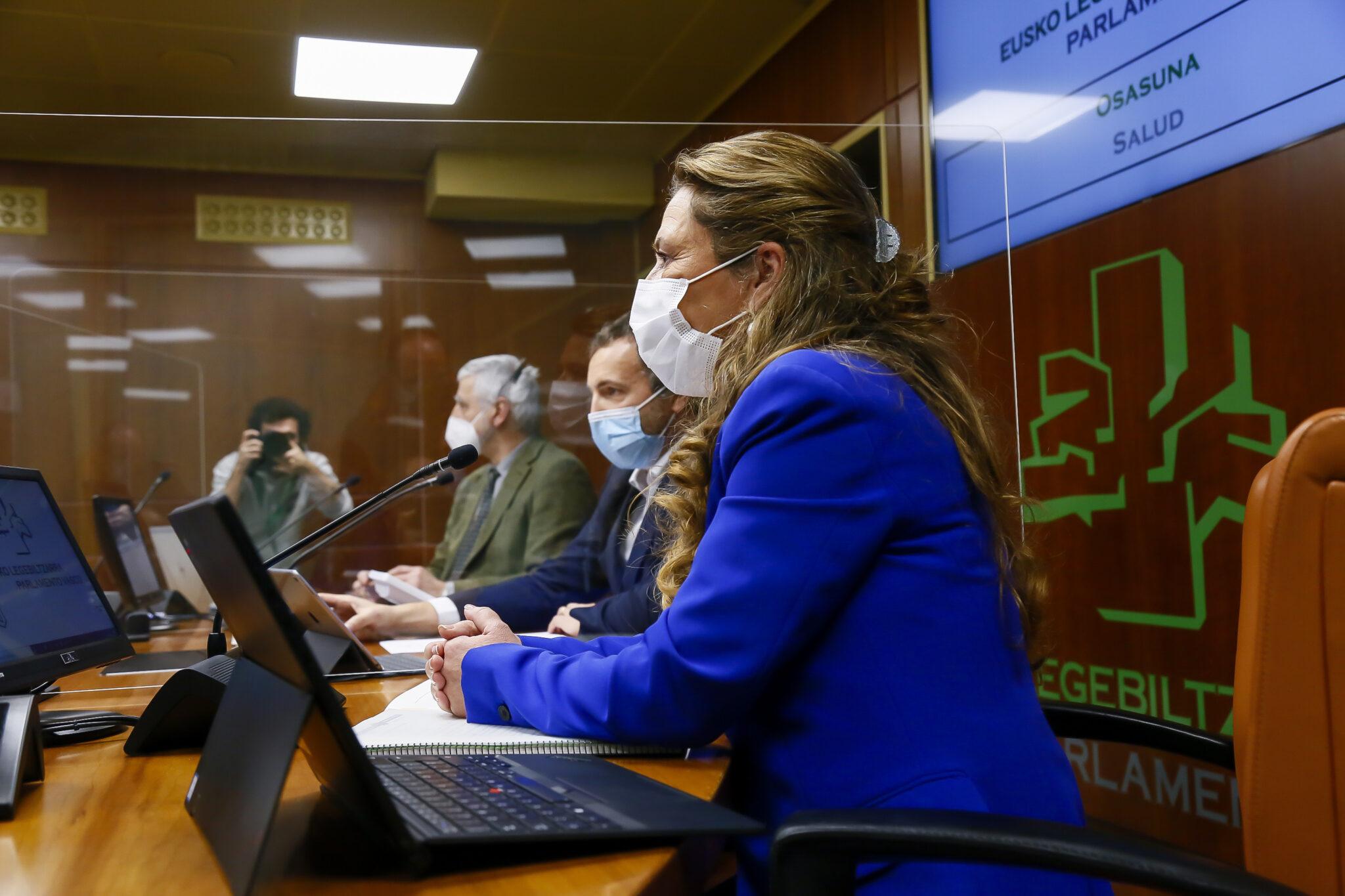 La consejera de Salud en una imagen de archivo. Foto: Gobierno vasco