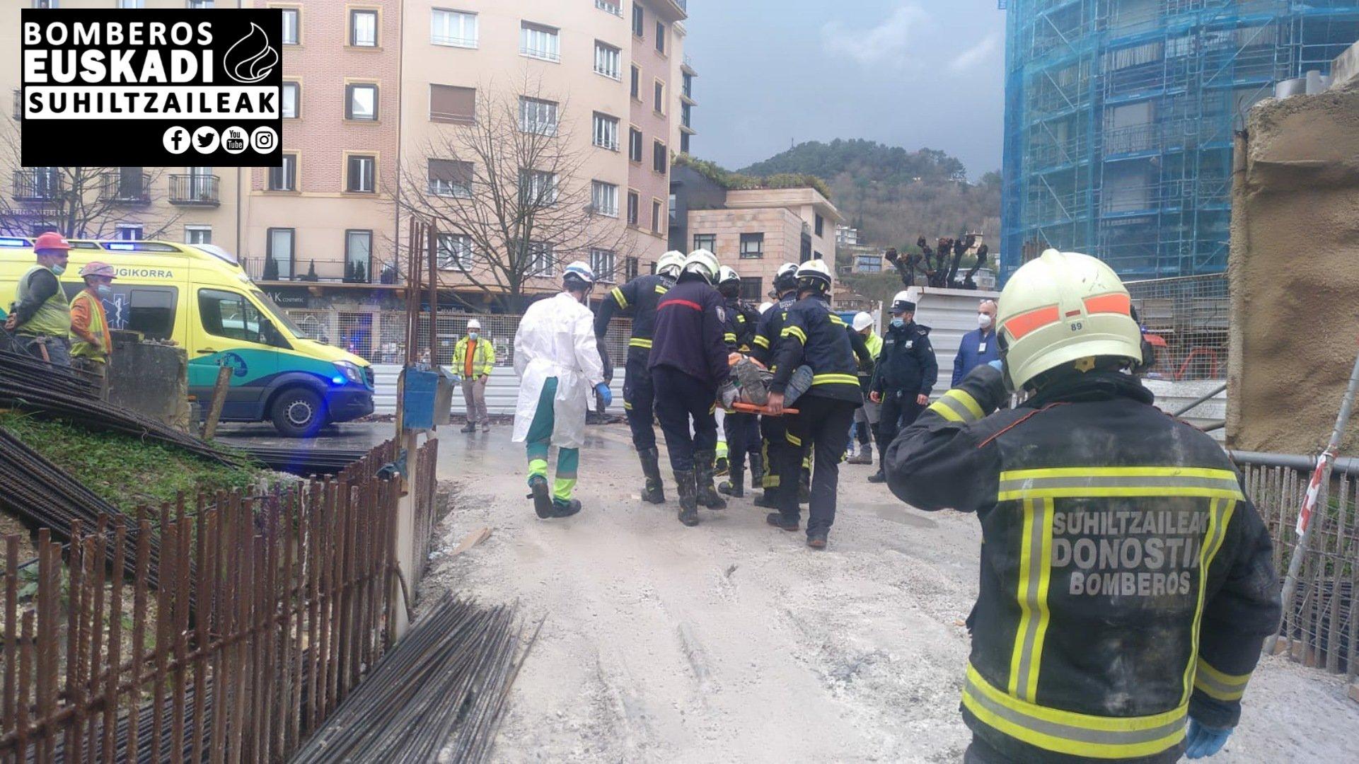 Foto: Bomberos de Euskadi
