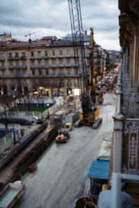 DSCF3192 La pasante del Metro de Donostialdea funcionará en 2025 tras una inversión de 150 millones