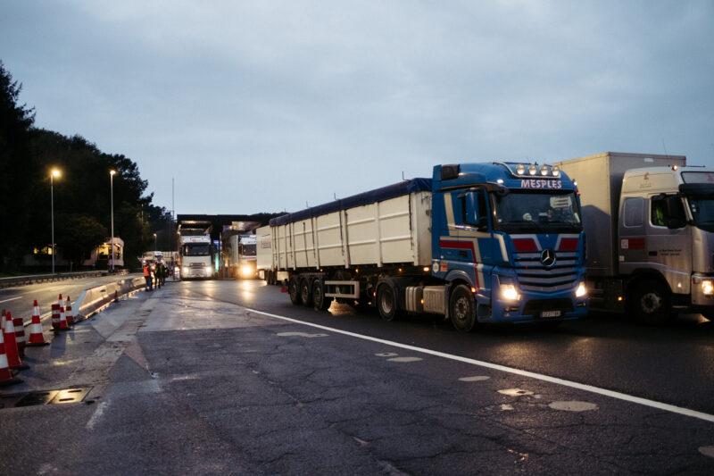 DSCF5217 Se ralentiza el paso a Francia aunque los transportistas están eximidos de la PCR