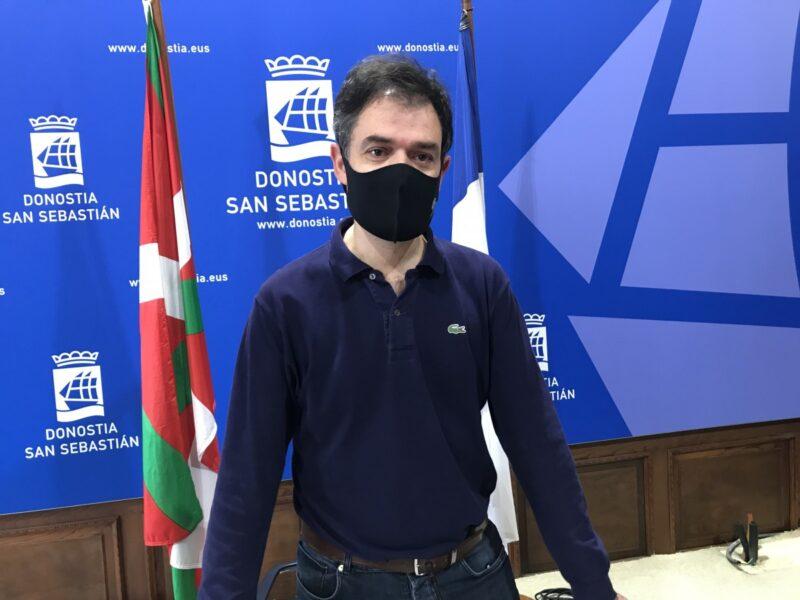 """RicardoBurutaran EH Bildu consideraría """"un agravio comparativo"""" rescatar a los parkings donostiarras"""