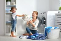 hogar y ninos Las tareas del hogar y los niños