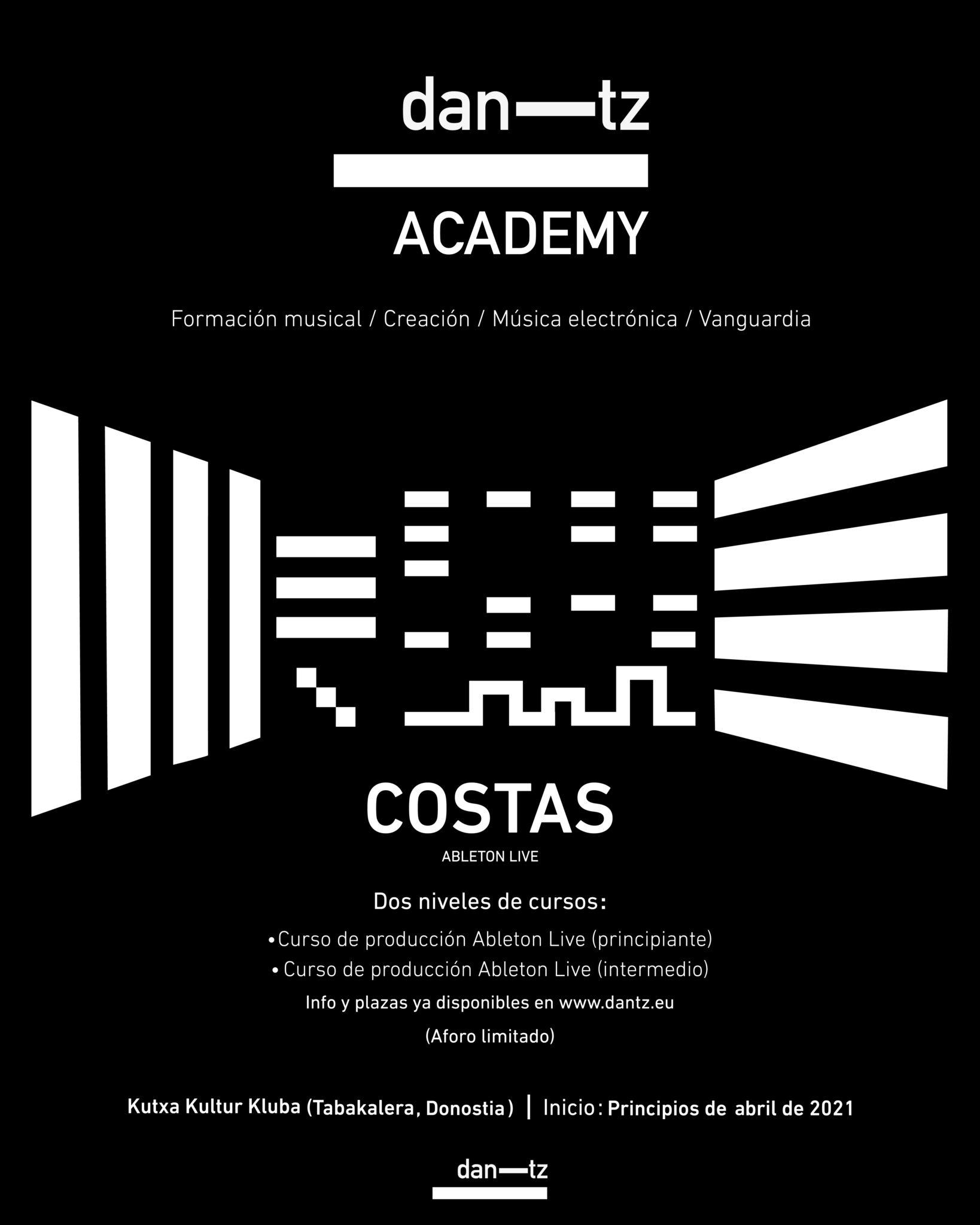 El cartel de Dantz Academy. Foto: dan-tz
