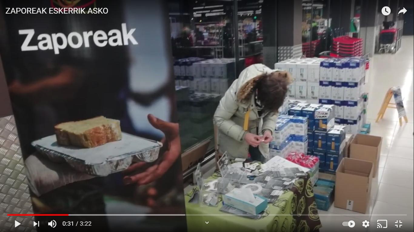 (vídeo de Zaporeak en el interior)