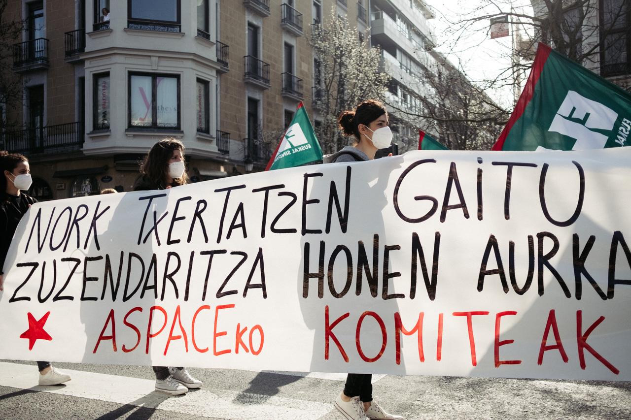 DSCF0920 - El sector de los cuidados vuelve a la calle y reclama cambios en Euskadi