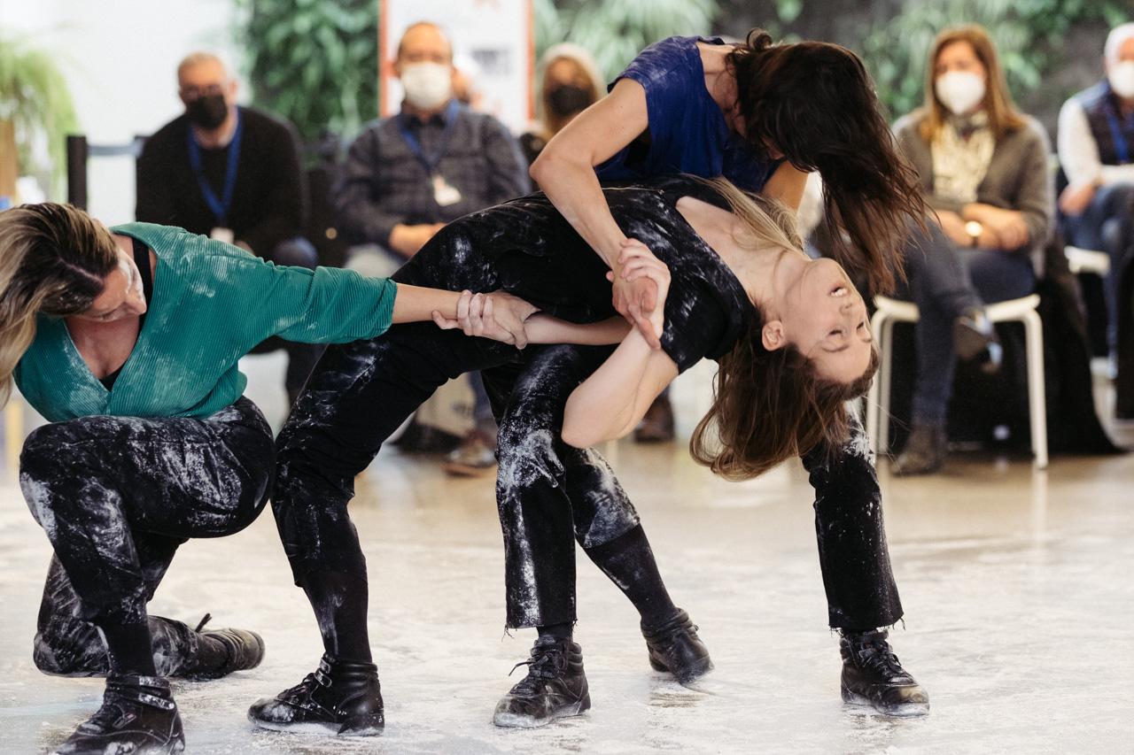 DSCF2601 - Danza con Amaiur Luluaga y Kanpai en dFERIA