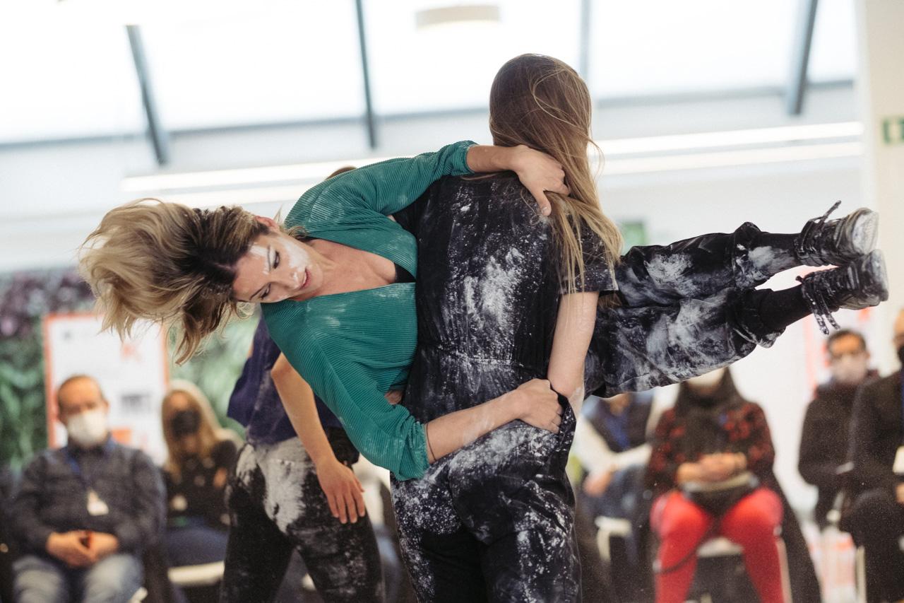 DSCF2625 - Danza con Amaiur Luluaga y Kanpai en dFERIA