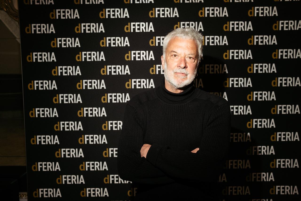 Adolfo Fernández de la obra 'Siveria'. Foto: Santiago Farizano