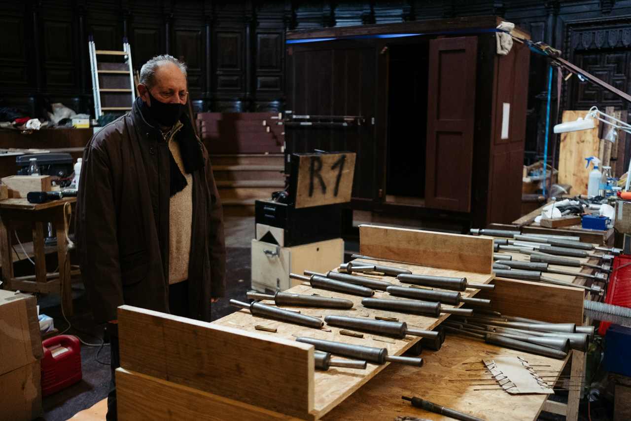 DSCF3759 - Donostia devuelve el esplendor a un órgano de 1863 que es una joya