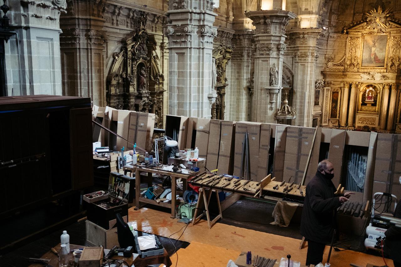 DSCF3820 - Donostia devuelve el esplendor a un órgano de 1863 que es una joya