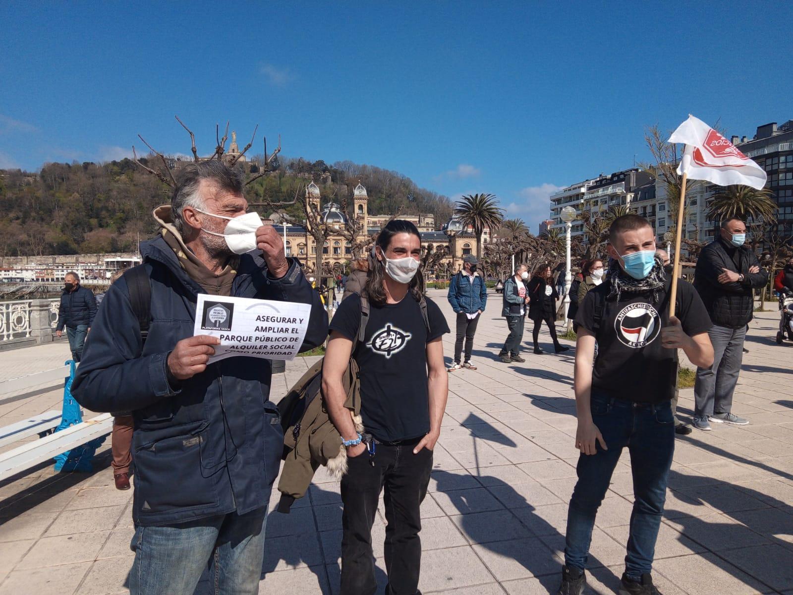IMG 20210320 WA0009 - Donostia también se manifiesta por el derecho a la vivienda