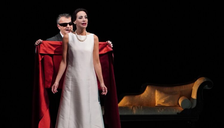 'La Diva', teatro musical sobre María Callas con autoría de Albert Boadella. Foto. D.K.