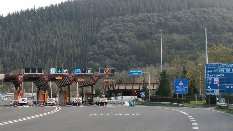 Imagen del peaje en la web change.org.