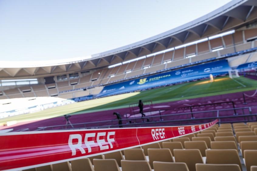 Estadio de La Cartuja, Sevilla. Foto: RFEF
