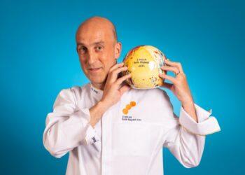 Aitor Arregi del restaurante Elkano ya tiene tres Soles de Repsol. Foto: Guía Repsol