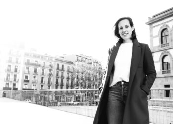 Lucía Gómez, mezzosoprano que cantará el Réquiem de Mozart con Opus Lirica en el Kursaal. Fotos: Santiago Farizano